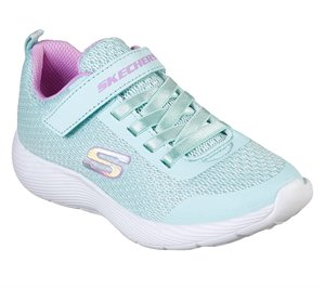 Purple Blue Skechers Dyna-Lite