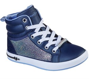 Navy Skechers Shoutouts - Sparkle & Style - FINAL SALE
