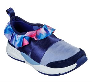 Multi Blue Skechers Shine Status - Ruffled Up - FINAL SALE