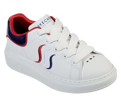 Red White Skechers High Street - Lil Miss Esss