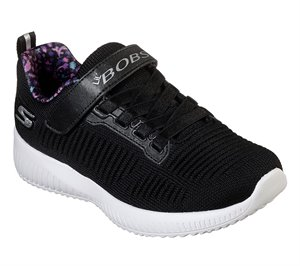 Black Skechers LIL BOBS Sport Squad - Charm League