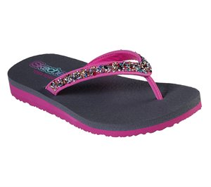 Multi Pink Skechers Meditation - Sparkle Breeze