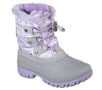 Purple Gray Skechers Windom