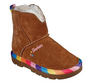 Brown Skechers Cozy Ups - FINAL SALE