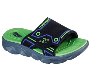 Green Black Skechers S Lights: Hypno-Splash - Sernox