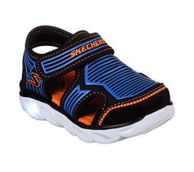 Blue Black Skechers S Lights: Hypno-Splash - Zotex - FINAL SALE
