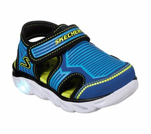 Green Blue Skechers S Lights: Hypno-Splash - Zotex