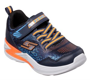 Orange Navy Skechers S Lights: Erupters III - Derlo