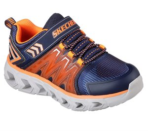 Orange Navy Skechers S Lights: Hypno-Flash 2.0