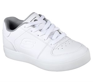 White Skechers S Lights: Energy Lights - Elate
