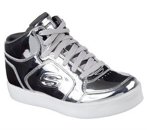 SILVER Skechers S Lights: Energy Lights - Eliptic