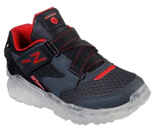 Black Gray Skechers Ice Lights: Arctic-Tron