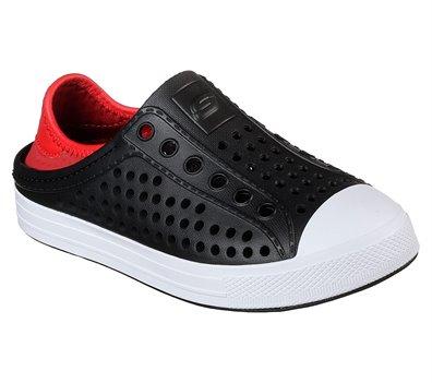 Red Black Skechers Guzman Steps - Aqua Surge - FINAL SALE