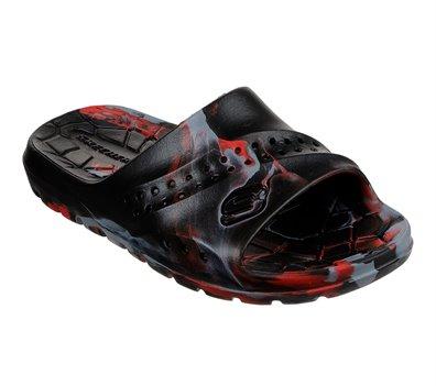 Gray Black Skechers Hogan - Aqua Spurt - FINAL SALE