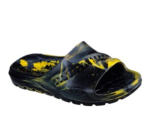 Yellow Blue Skechers Hogan - Aqua Spurt - FINAL SALE