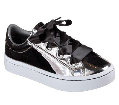 b35d6299cd24 Skechers Hi-Lites - Liquid Bling in Silver - Skechers Womens Casual ...