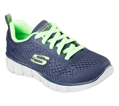 Skechers Equalizer 2.0 Settle the Score in Green Navy
