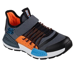 Gray Blue Skechers Kinectors - Thermovolt