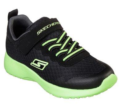 Green Black Skechers Dynamight - Hyper Torque