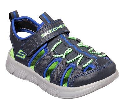 Blue Gray Skechers C-Flex Sandal