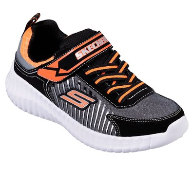 Orange Black Skechers Elite Flex - Spectropulse