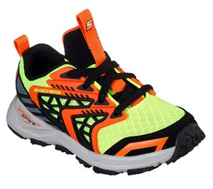Black Yellow Skechers Turbo Spike - Astrozone