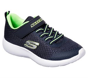 Green Navy Skechers Dyna-Lite