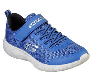 Black Blue Skechers Dyna-Lite