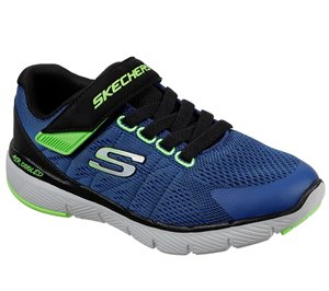 Black Blue Skechers Flex Advantage 3.0 - Transvert