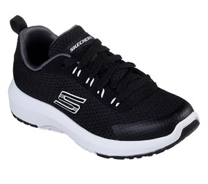 White Black Skechers Dynamic Tread - Nitrode