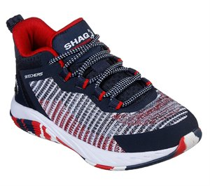 Red Navy Skechers SHAQ Durafusion - FINAL SALE