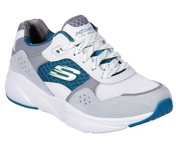 infierno cristal conciencia  Skechers Meridian - Charted in Blue Gray - Skechers Womens Athletic on  Shoeline.com