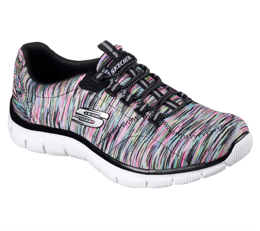 Skechers Relaxed Fit: Empire - Game On : Multi Black - Womens