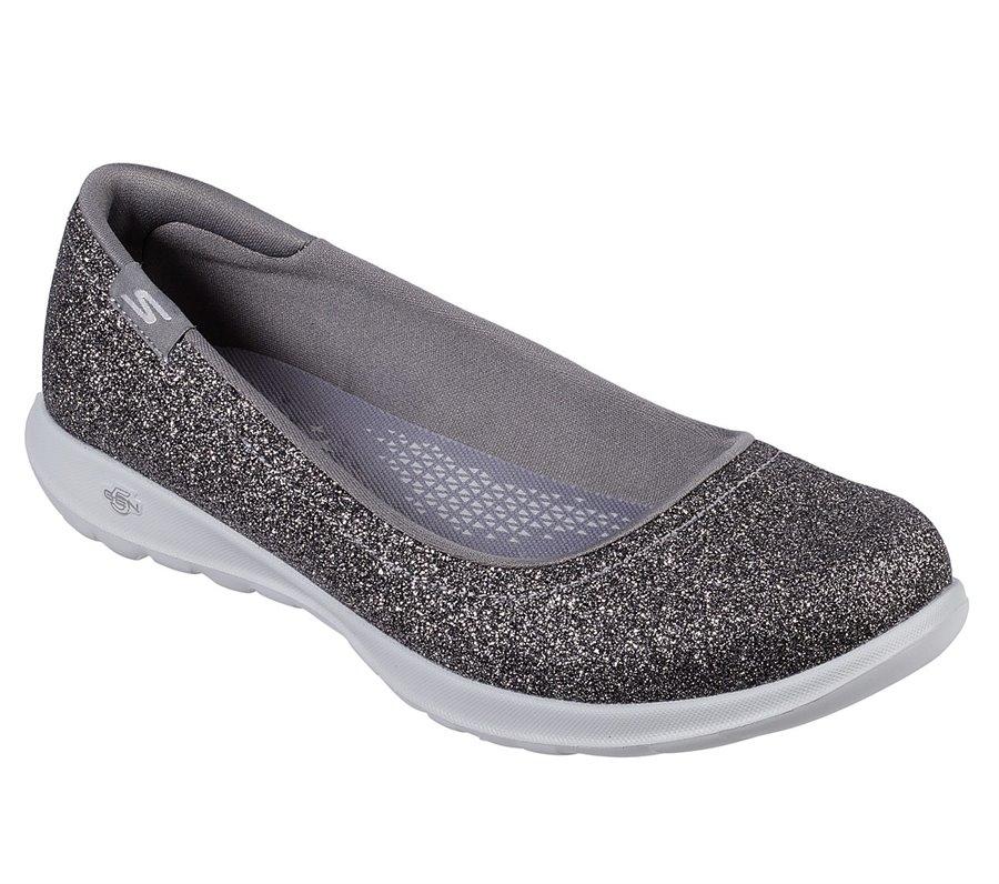 Skechers Skechers GOwalk Lite - Gleam : Silver - Womens