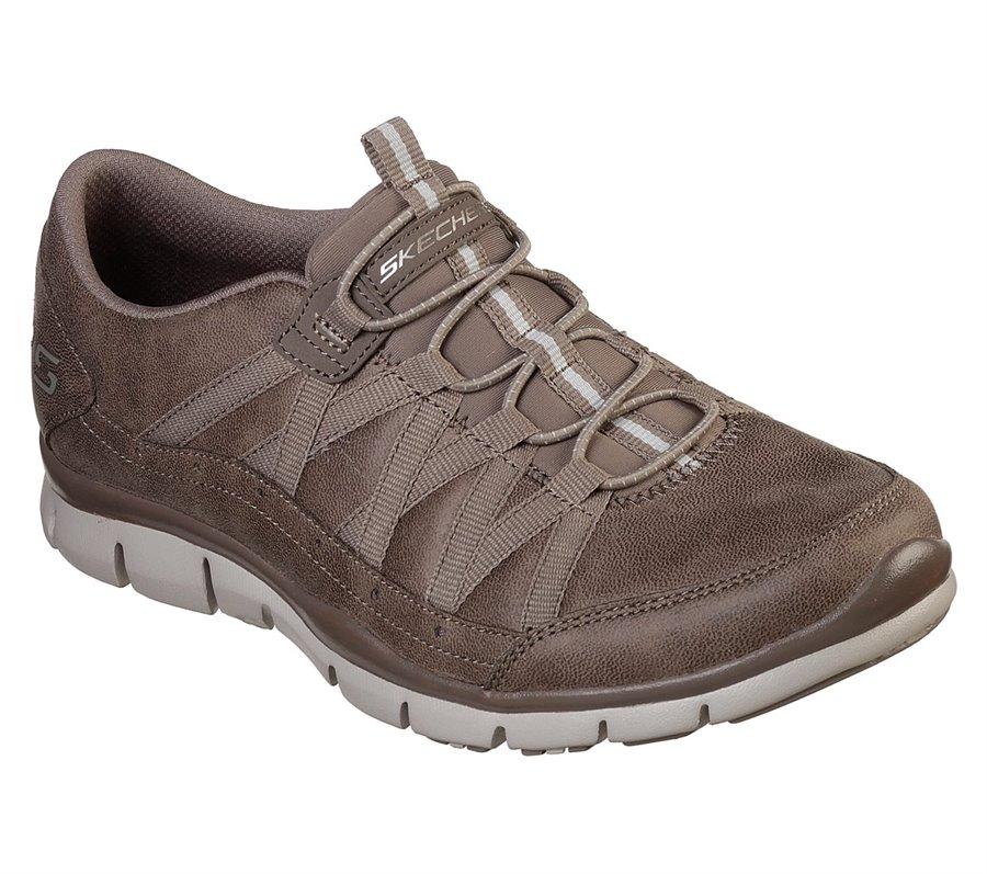 Skechers Gratis - Fine Taste : Brown - Womens