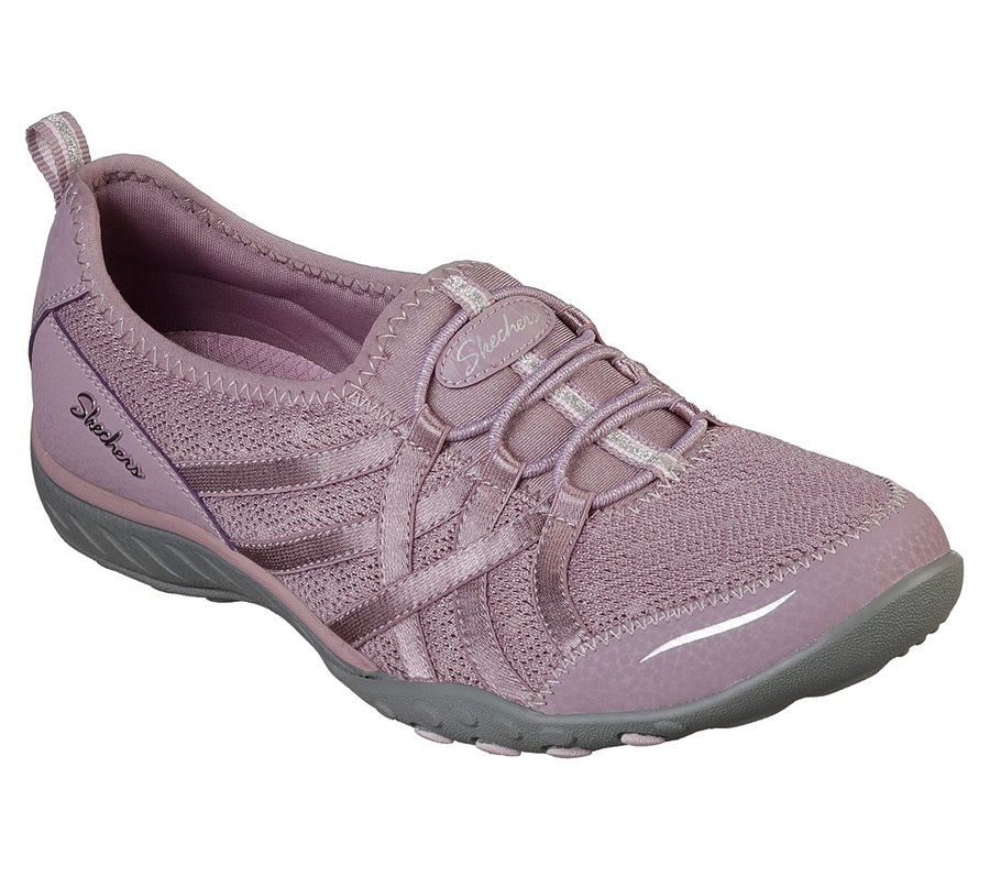 Skechers Relaxed Fit: Breathe Easy - Envy Me : Purple - Womens