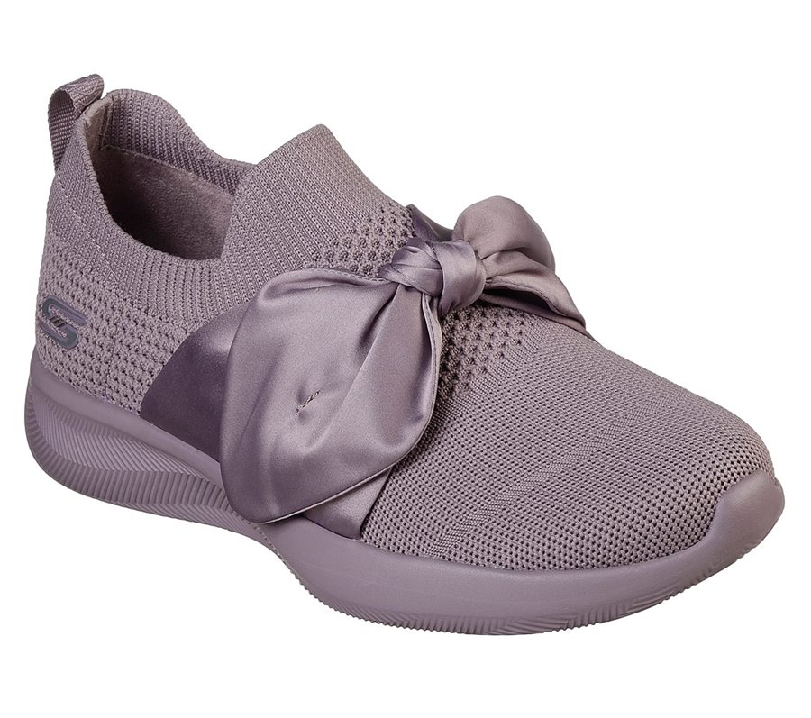 Skechers BOBS Sport Squad 2 - Bow Beauty : Pink - Womens