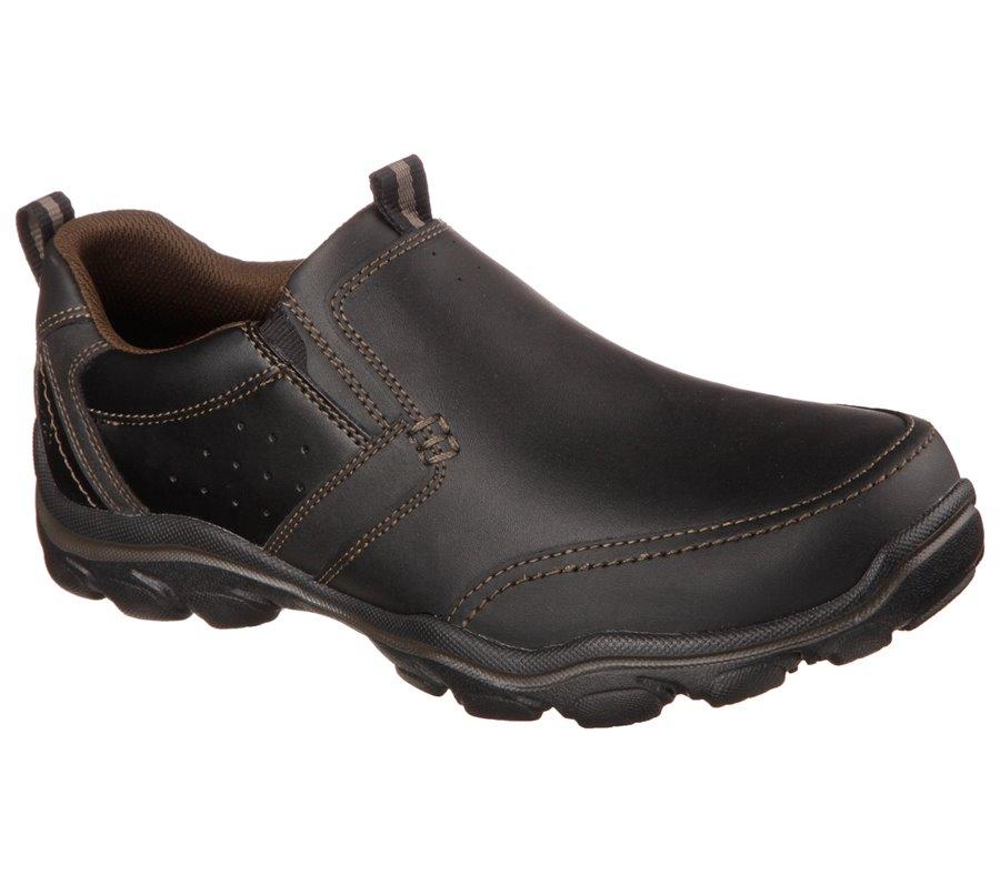 Skechers Relaxed Fit: Montz - Devent : Black - Mens