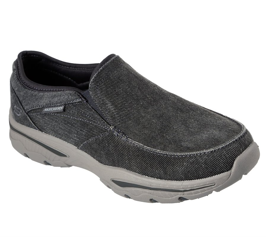 Skechers Relaxed Fit: Creston - Moseco : Gray - Mens