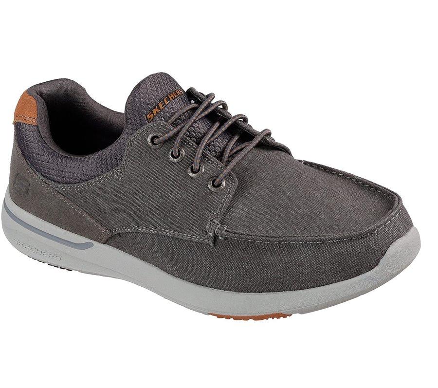 Skechers Relaxed Fit: Elent - Mosen : Gray - Mens