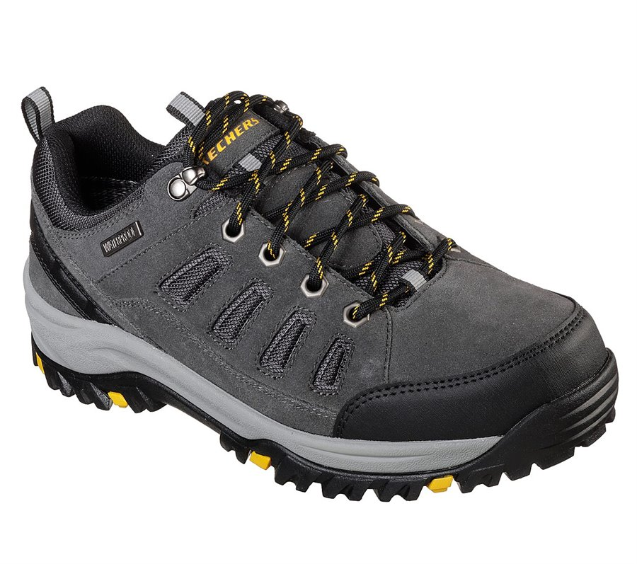 Skechers Relaxed Fit: Relment - Sonego : Gray - Mens