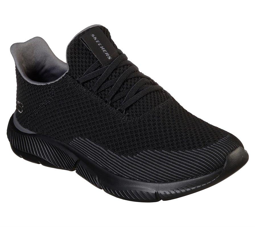 Skechers Relaxed Fit: Ingram - Taison : Black - Mens