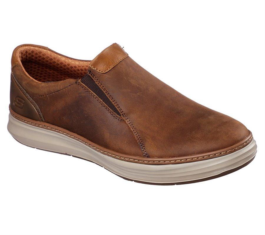 Skechers Moreno - Nector : Brown - Mens