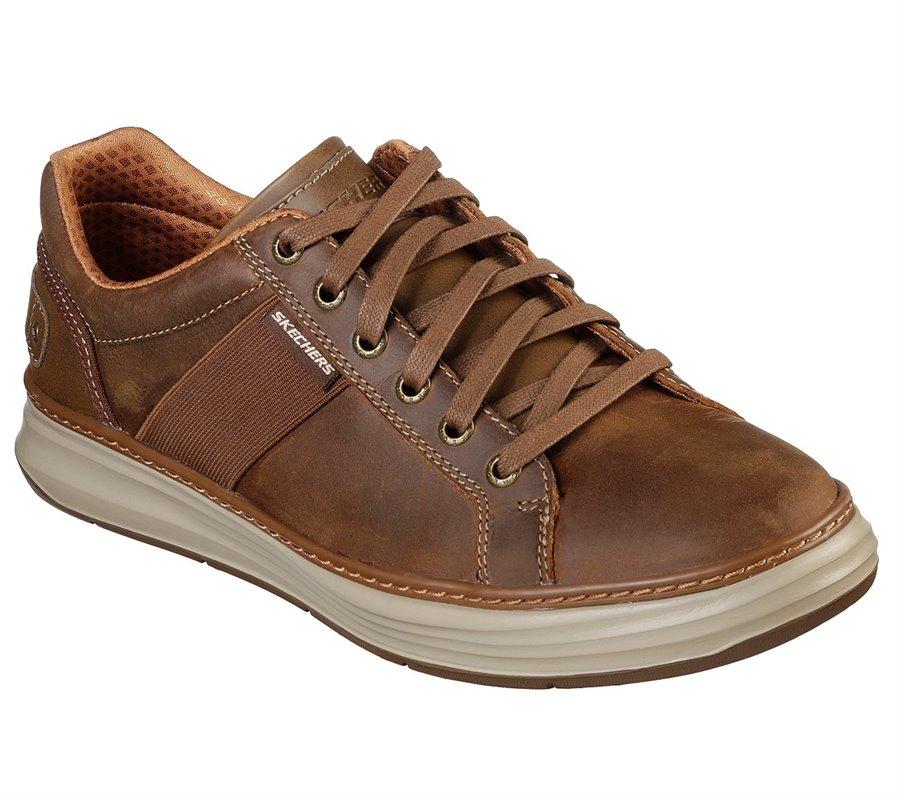 Skechers Moreno - Winsor : Brown - Mens