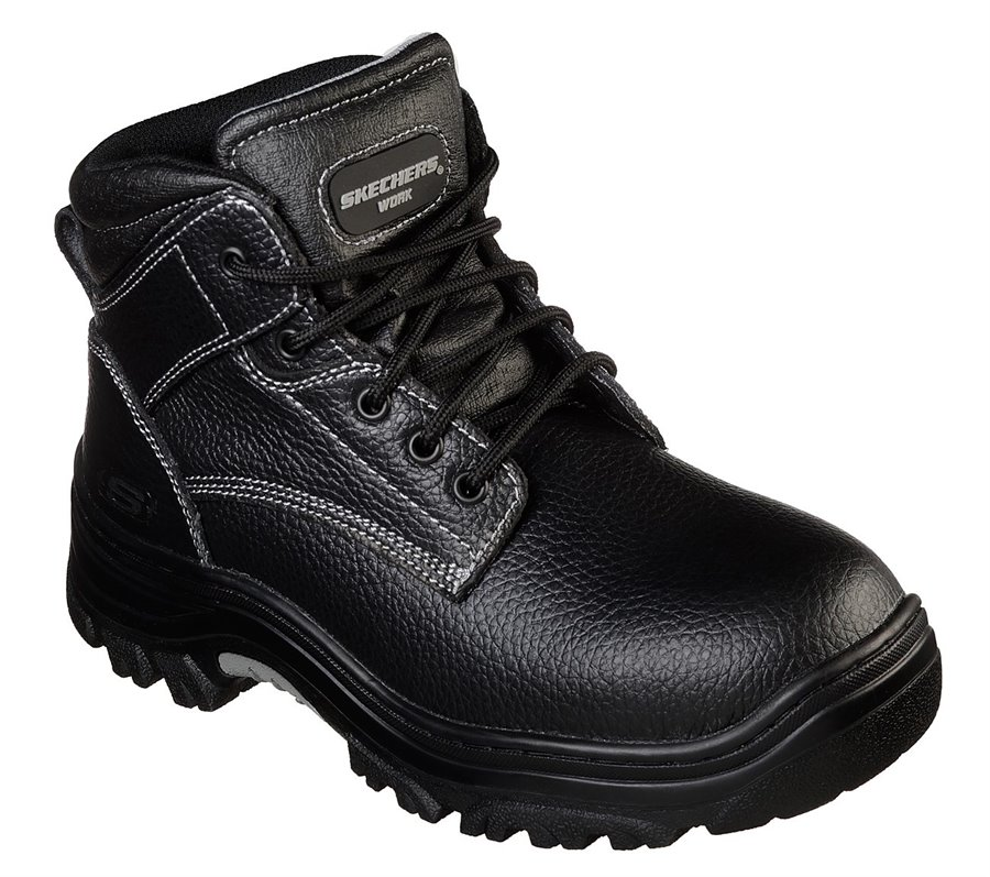 Skechers Work Relaxed Fit: Burgin - Congaree : Black - Mens