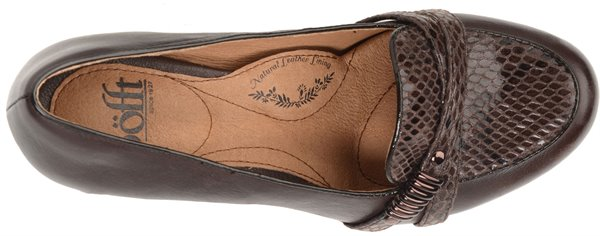Image of the Montara shoe from the top