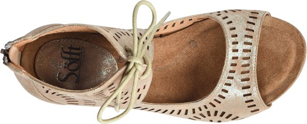 Image of the Modesto shoe from the top