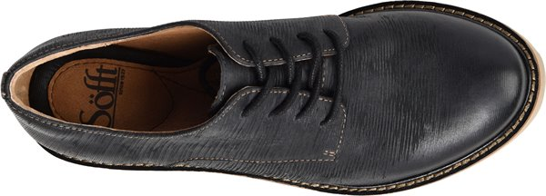 Image of the Salerno shoe from the top