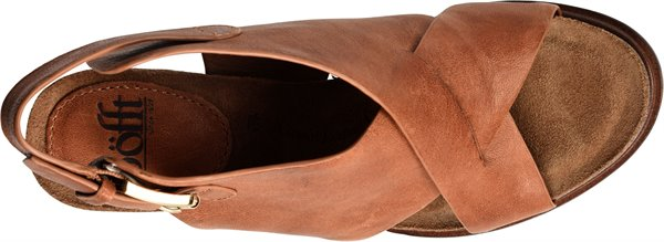 Image of the Cambria shoe from the top