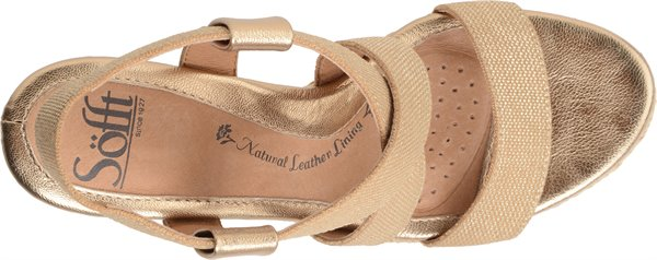 Image of the Perla shoe from the top